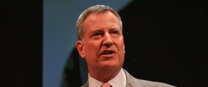 Bill de Blasio Is Against Fracking