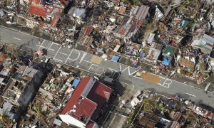 Climate change destroys Philippine cities